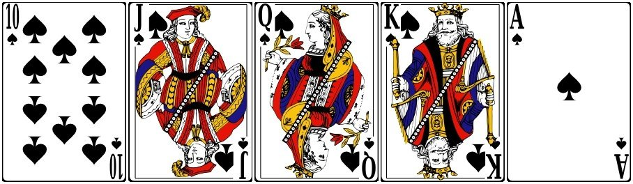 Royal Straight Flush (Стрит Флеш Роял)